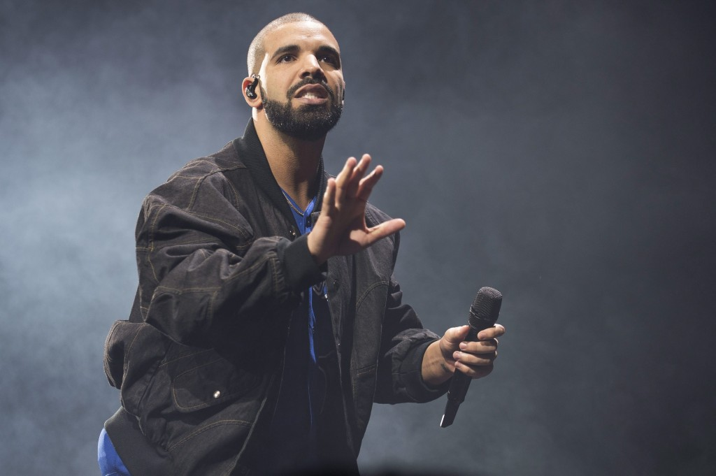 Drake performs onstage in Toronto on Oct. 8, 2016 (Arthur Mola/Invision/AP)