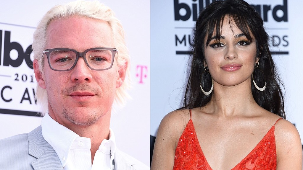 Diplo attending the Billboard Music Awards in Las Vegas / Camila Cabello attending the Billboard Music Awards in Las Vegas (PA Photos Limited [2001] all rights reserved)