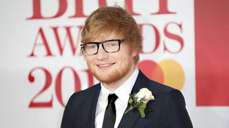 ed sheeran addresses marriage rumours on brit awards red carpet