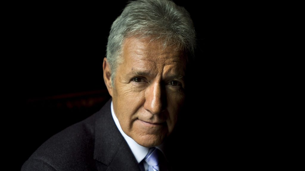 Jeopardy host Alex Trebek poses for a photograph in Toronto on Tuesday, June 11, 2013. THE CANADIAN PRESS/Nathan Denette