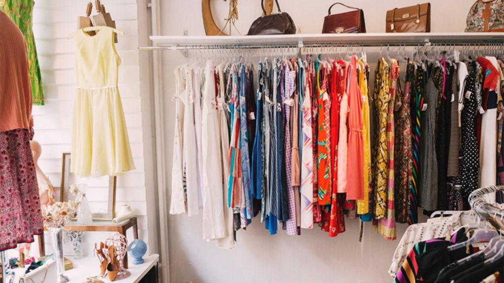 Where To Donate Clothes In Canada Rack Of Colourful Clothing
