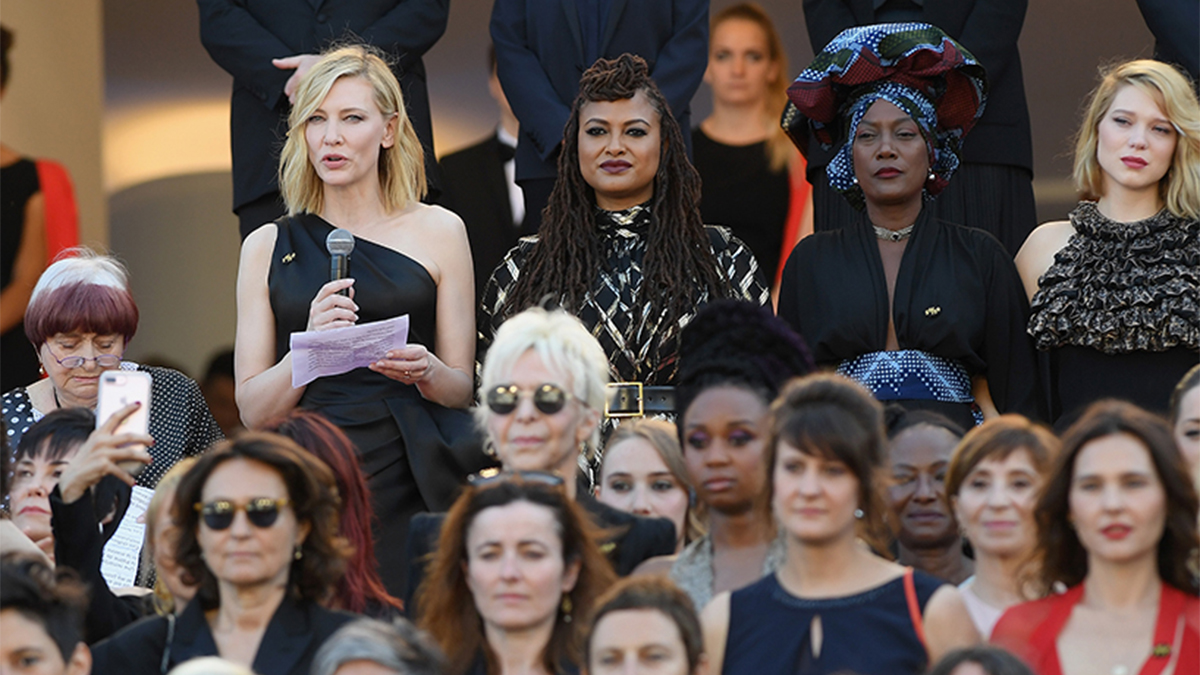 82 Women *Literally* Took a Stand for Equality at Cannes