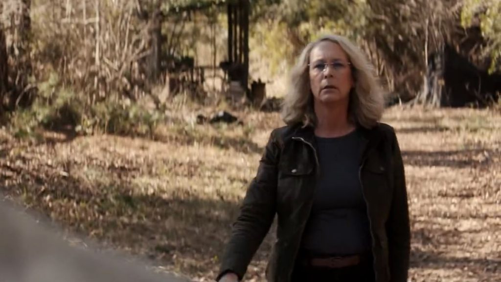 Jamie Lee Curtis stars in the upcoming Halloween reboot