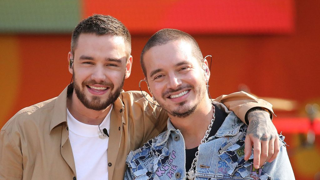 Liam Payne and J Balvin perform on ABC's 'Good Morning America' Summer Concert Series at Rumsey Playfield, Central Park on May 15, 2018 in New York City. (Photo by Manny Carabel/WireImage/Getty)