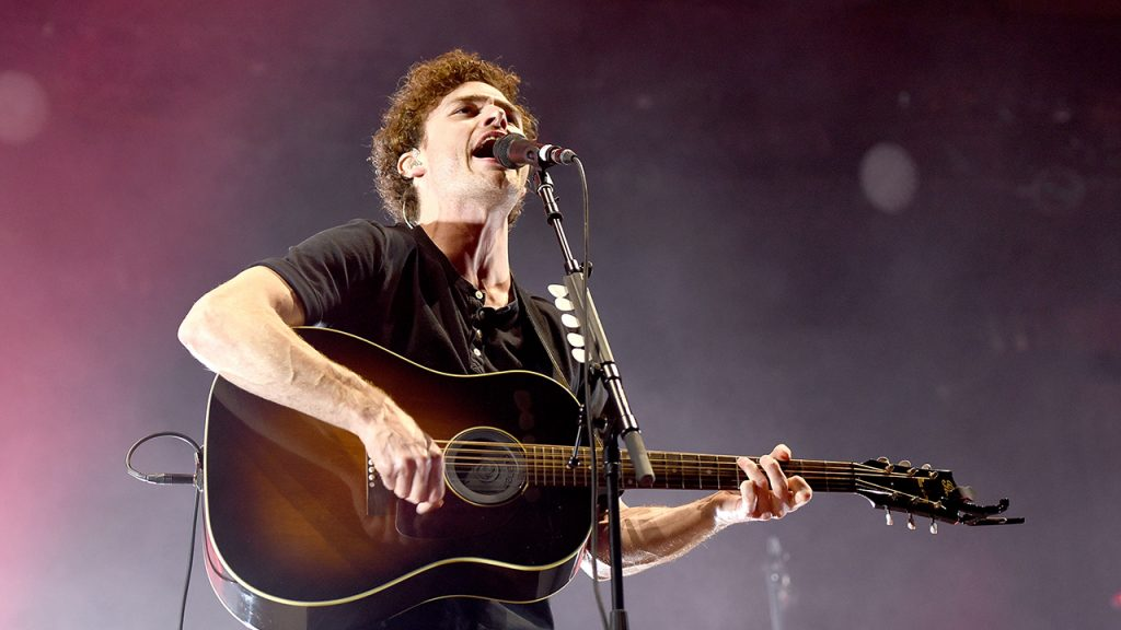 Vance Joy performs during his 'Nation of Two' world tour at The Greek Theatre on April 13, 2018 in Berkeley, California. (Photo by C Flanigan/Getty Images)