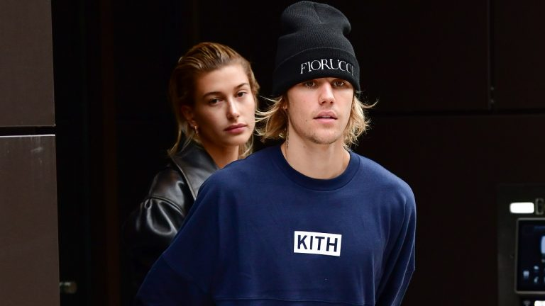 NEW YORK, NY - SEPTEMBER 14: Justin Bieber and Hailey Baldwin seen on the streets of Brooklyn on September 14, 2018 in New York City.