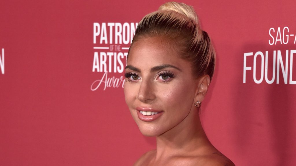 BEVERLY HILLS, CA - NOVEMBER 08: Lady Gaga attends SAG-AFTRA Foundation's 3rd Annual Patron of the Artists Awards at Wallis Annenberg Center for the Performing Arts on November 8, 2018 in Beverly Hills, California.