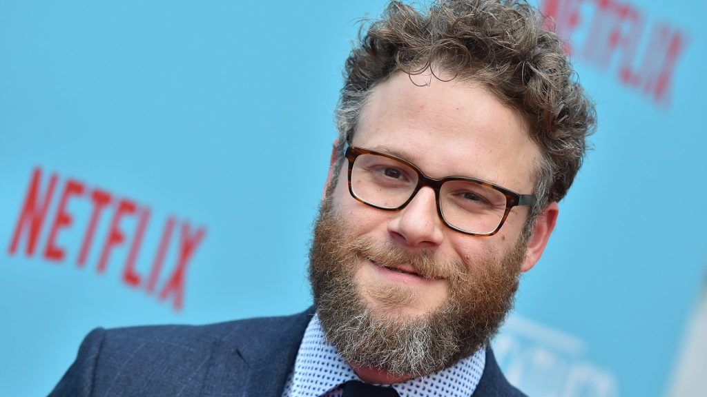 HOLLYWOOD, CA - JULY 31: Seth Rogen arrives at the premiere of Netflix's 'Like Father' at ArcLight Hollywood on July 31, 2018 in Hollywood, California.