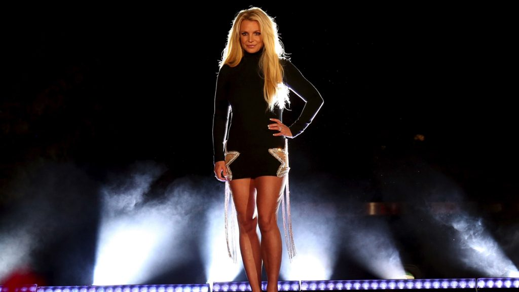 LAS VEGAS, NV - OCTOBER 18: Singer Britney Spears attends the announcement of her new residency, 'Britney: Domination' at Park MGM on October 18, 2018 in Las Vegas, Nevada. Spears will perform 32 shows at Park Theater at Park MGM starting in February 2019.