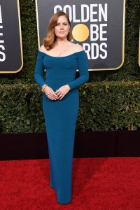 BEVERLY HILLS, CA - JANUARY 06: Amy Adams attends the 76th Annual Golden Globe Awards at The Beverly Hilton Hotel on January 6, 2019 in Beverly Hills, California. (Photo by Steve Granitz/WireImage)