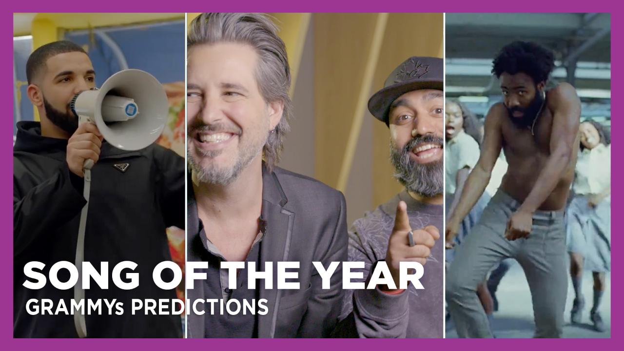 KiSS 92 5 'Song of the Year' GRAMMYs Predictions