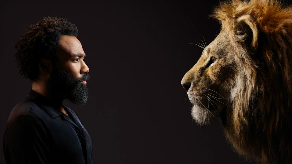 Donald Glover as Simba (Photo by: Disney)