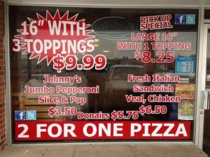 Johnny's Pizza Orangeville